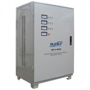 Стабилизатор напряжения Rucelf SDV - 3 - 90000